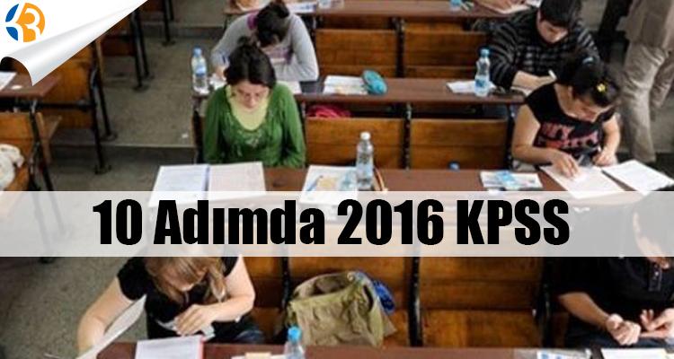 10 Adımda 2016 KPSS